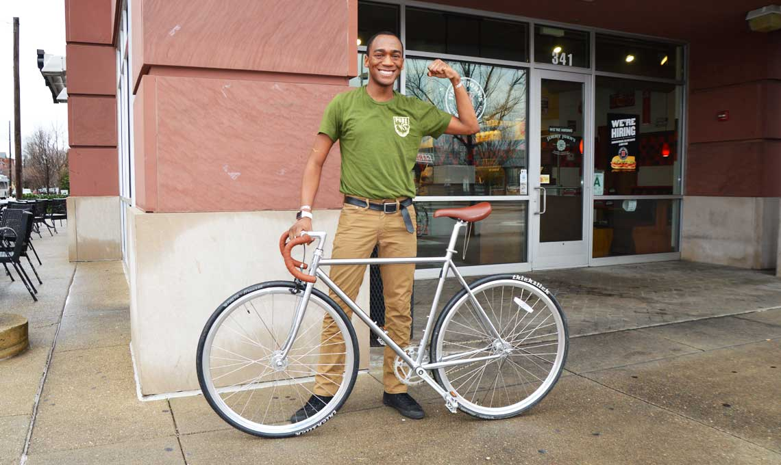 Jonathon Porter Rides Pure Cycles